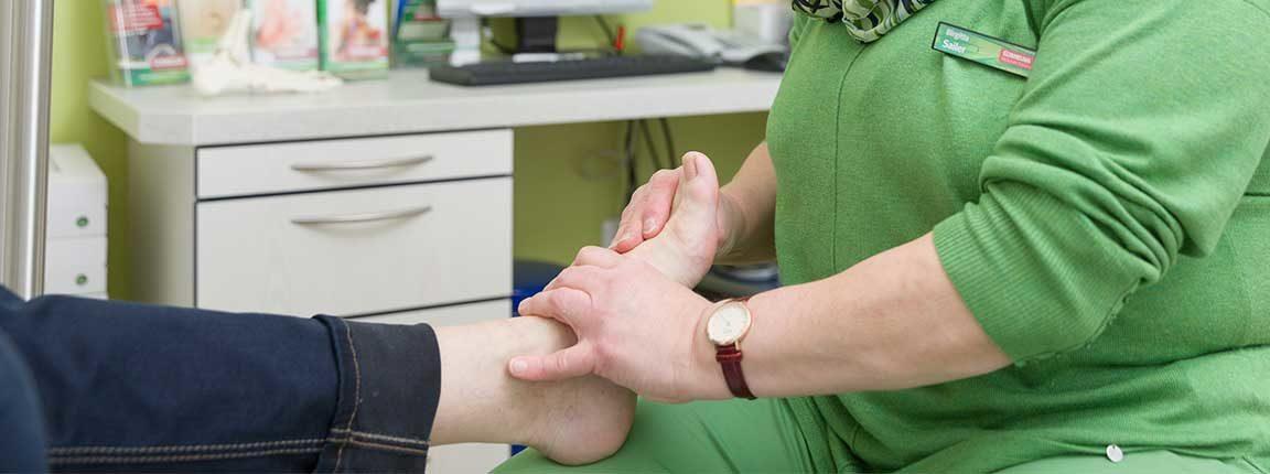 Cornelius Gesunde Schuhe Fußreflexzonenbehandlung
