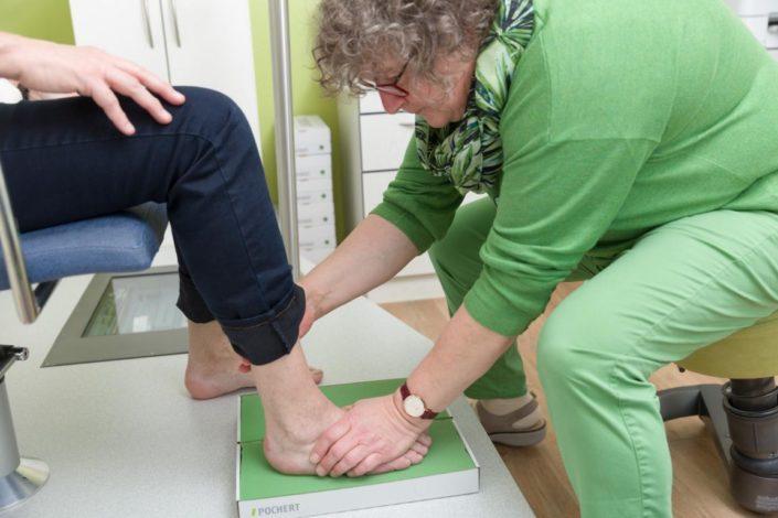 Cornelius Gesunde Schaumabdruck Fußmessung