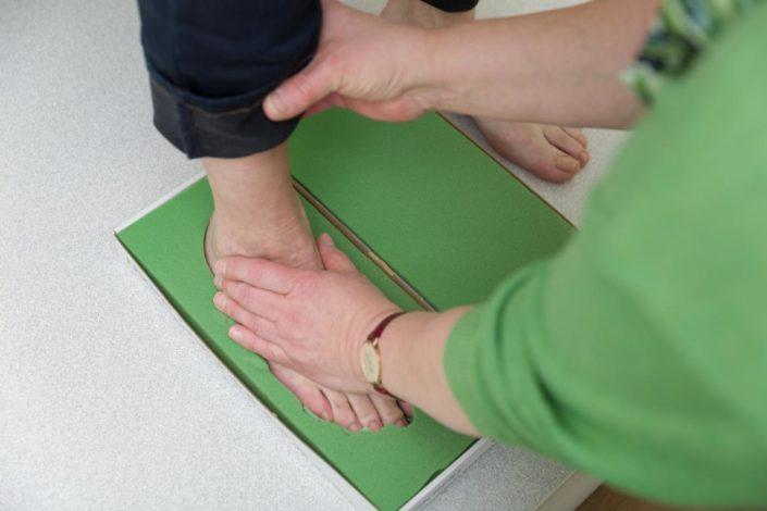 Cornelius Gesunde Schuhe Fußabdruck Schaum