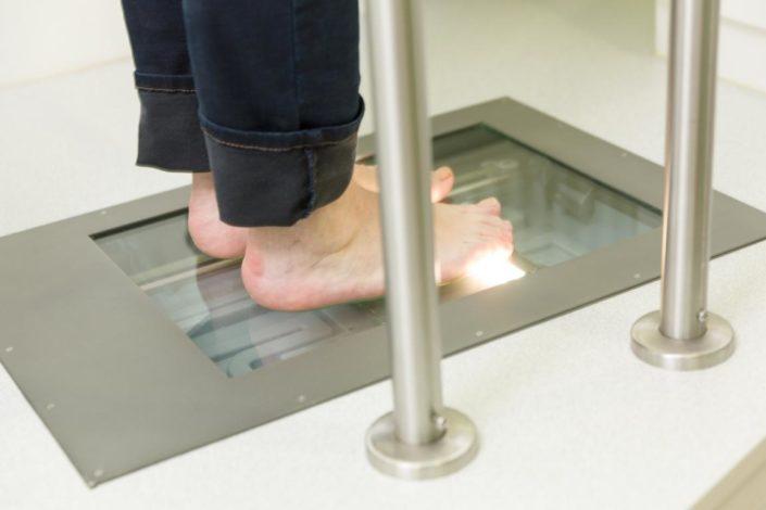 Cornelius Gesunde Schuhe Fußscan