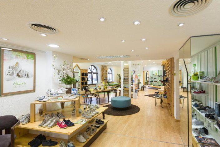 Cornelius Gesunde Schuhe Komfortschuhe Ladenaustellung